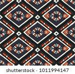 tribal vector ornament.... | Shutterstock .eps vector #1011994147