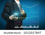 stock analysis ideas concept... | Shutterstock . vector #1012017847