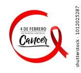 dia mundial contra el cancer 4...   Shutterstock .eps vector #1012025287