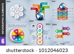 infographic elements data... | Shutterstock .eps vector #1012046023