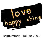 beautiful phrase for fashion... | Shutterstock .eps vector #1012059253
