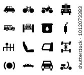 origami style icon set   car... | Shutterstock .eps vector #1012073383