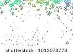 light multicolor  rainbow...   Shutterstock .eps vector #1012073773