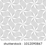 the geometric pattern with wavy ... | Shutterstock .eps vector #1012090867