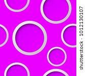 seamless round pattern. circle... | Shutterstock .eps vector #1012130107
