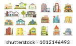 set of different styles... | Shutterstock . vector #1012146493