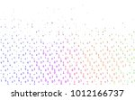 light multicolor  rainbow...   Shutterstock .eps vector #1012166737