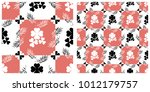 seamless pattern  for saint... | Shutterstock .eps vector #1012179757