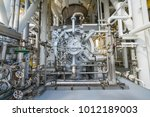 multi stage centrifugal gas... | Shutterstock . vector #1012189003