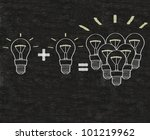 creativity written on blackboard background Easy to edit and use, high resolution. - stock photo