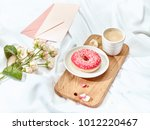 the love letter concept on... | Shutterstock . vector #1012220467