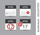 set of usa tax day reminder...   Shutterstock .eps vector #1012247293