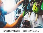 assortment roller skates... | Shutterstock . vector #1012247617