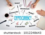 cryptocurrency concept. the... | Shutterstock . vector #1012248643