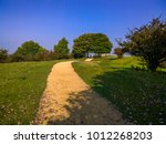 broadway tower country park... | Shutterstock . vector #1012268203