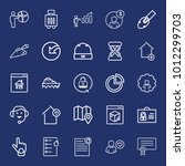 business outline vector icon... | Shutterstock .eps vector #1012299703