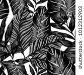watercolor seamless pattern...   Shutterstock .eps vector #1012312903