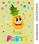 party banner  flayer ... | Shutterstock .eps vector #1012314313