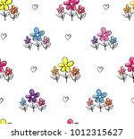 abstract seamless pattern.... | Shutterstock .eps vector #1012315627