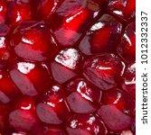 red juice pomegranate... | Shutterstock . vector #1012332337