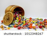 Gift Box. Mix Of Candies And...