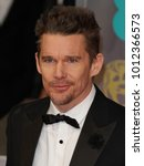 Small photo of LONDON - FEB 8, 2015: Ethan Hawke attends the EE British Academy Film Awards at The Royal Opera House in London