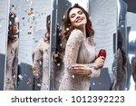 portrait beautiful woman lady...   Shutterstock . vector #1012392223