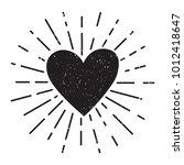 raster grunge illustration with ... | Shutterstock . vector #1012418647