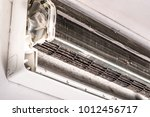 dirty air conditioner blower... | Shutterstock . vector #1012456717