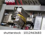 close up view of electrical... | Shutterstock . vector #1012463683