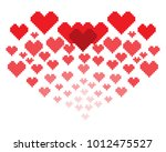 an illustration in the form of... | Shutterstock .eps vector #1012475527