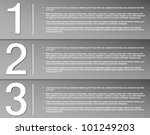 set of sample stickers with... | Shutterstock .eps vector #101249203