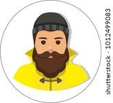 fisherman sailor  seaman man in ...   Shutterstock . vector #1012499083