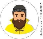 fisherman sailor  seaman man in ...   Shutterstock .eps vector #1012500337