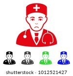 pitiful physician vector... | Shutterstock .eps vector #1012521427