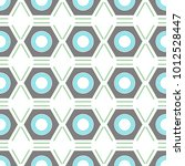 geometric seamless background.... | Shutterstock . vector #1012528447