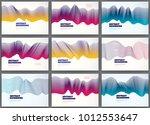 abstract fluid vector... | Shutterstock .eps vector #1012553647