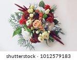 Eustoma  A Wedding Bouquet ...