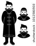 fisherman sailor  seaman man...   Shutterstock .eps vector #1012580503