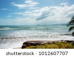 beautiful tropical pacific... | Shutterstock . vector #1012607707