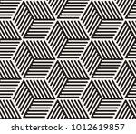 vector seamless pattern. modern ...   Shutterstock .eps vector #1012619857
