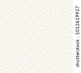 vector seamless subtle pattern. ... | Shutterstock .eps vector #1012619917