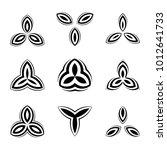 creative simple logos set....   Shutterstock .eps vector #1012641733