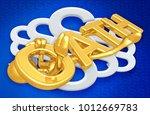 the original 3d character... | Shutterstock . vector #1012669783
