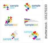 design elements. vector. icons... | Shutterstock .eps vector #101270233