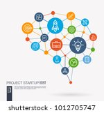ai creative think system... | Shutterstock .eps vector #1012705747