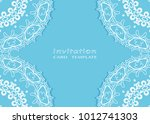 invitation or card template... | Shutterstock .eps vector #1012741303