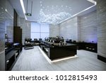 hotel buffet restaurant interior   Shutterstock . vector #1012815493