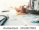 business planning strategy...   Shutterstock . vector #1012817803