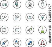 line vector icon set   vial... | Shutterstock .eps vector #1012899907